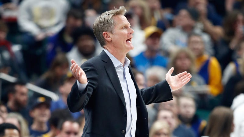 "Illustration for article titled Steve Kerr After Warriors Squelched By Pacers: ""It's Hard To Win An NBA Game If You Don't Put Forth An Effort At All"""