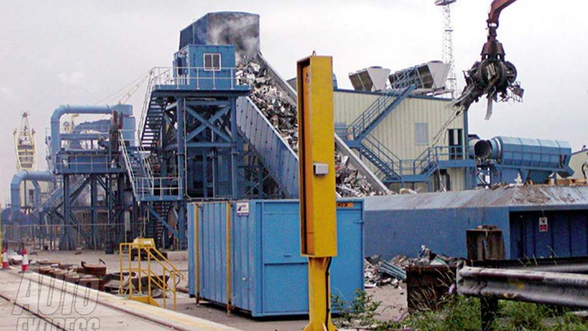 The Worlds Biggest Auto Shredder Eats 450 Cars An Hour Mega Wiring Diagram