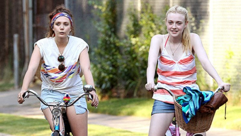 Dakota Fanning And Elizabeth Olsen Try To Lose Their -8166