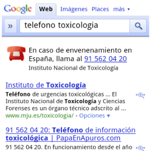Illustration for article titled Google Shows Click-to-Call Emergency Numbers in Mobile Searches