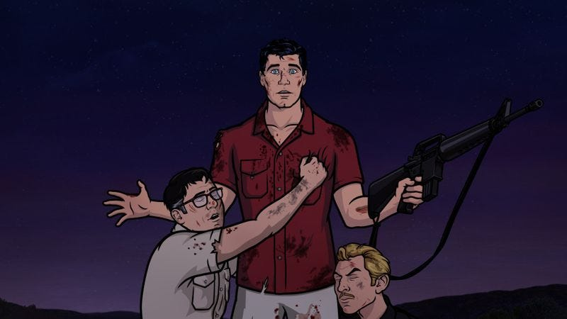 """Illustration for article titled Archer Vice: """"The Rules Of Extraction"""""""