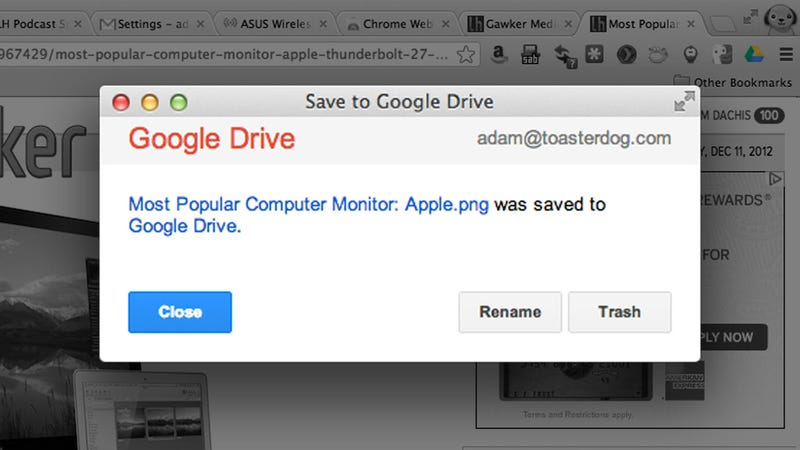 Google Drive Releases an Official Chrome Extension, Adds Image