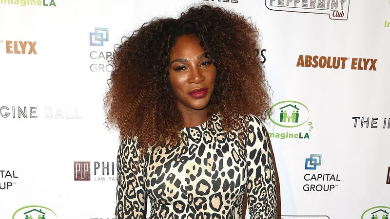 Serena Williams attends the 5th Annual Imagine Ball Honoring Serena Williams Benefiting Imagine LA on September 23, 2018 in Los Angeles, California.