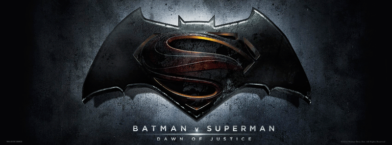 The Official Logo And Title For Movie Previously Known As Man Of Steel 2 Batman Vs Superman Has Been Revealed Lets Break It Down