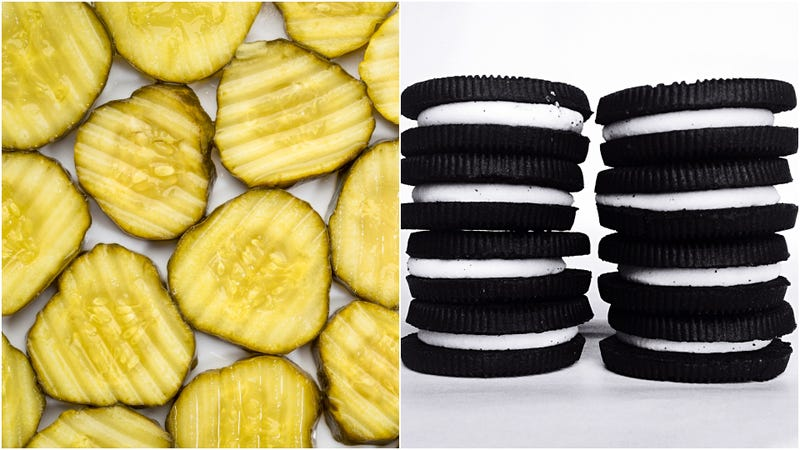 Illustration for article titled We're putting pickles on Oreos now; RIP putting pickles on things
