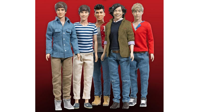 Illustration for article titled Here Are Those One Direction Dolls You Didn't Ask For