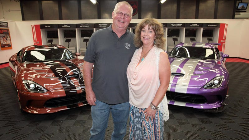 Illustration for article titled This Texas Couple Has 79 Dodge Vipers Now