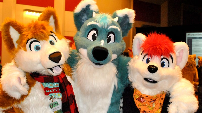 Some other furries at Midwest FurFest (Photo by Douglas Muth)