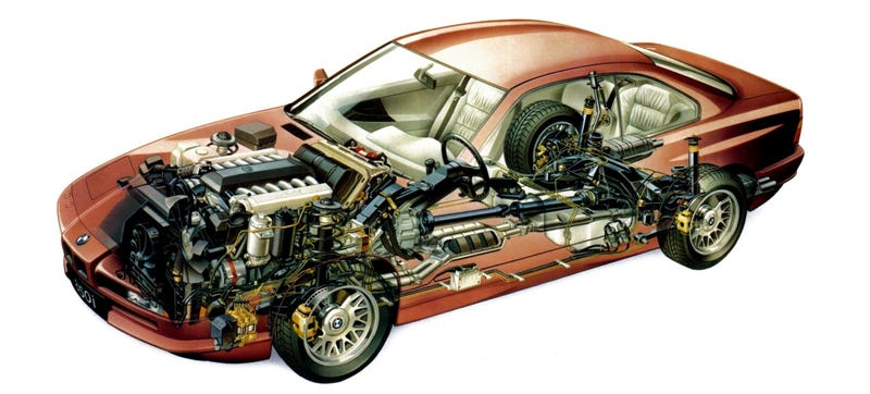 Illustration for article titled Does Your Car Have More Computers Than A BMW 850i?
