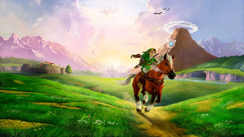 Illustration for article titled Why Are You Here? Shigeru Miyamoto On The Ocarina Of Time