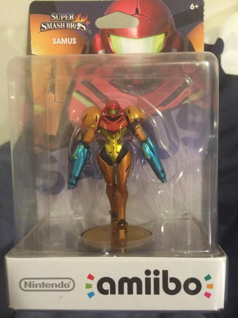 Illustration for article titled Defective Samus Amiibo? More Like Perfected Samus Amiibo