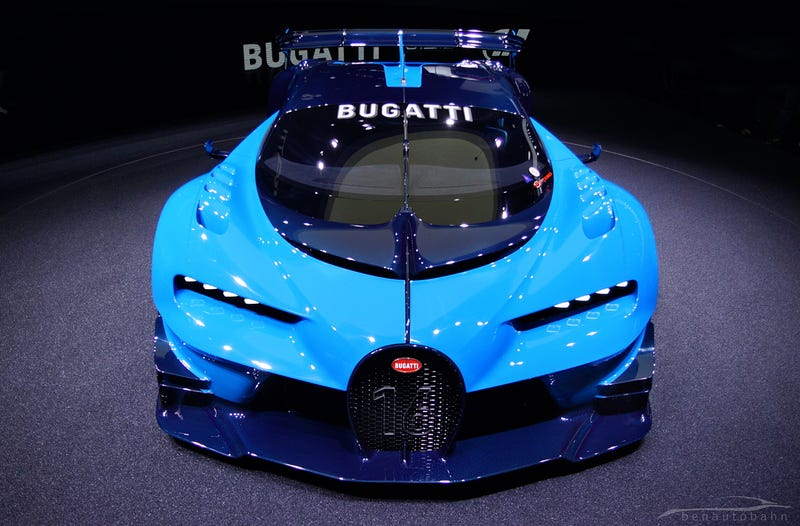 Your Ridiculously Awesome Bugatti Vision Gran Turismo Wallpaper Is Here