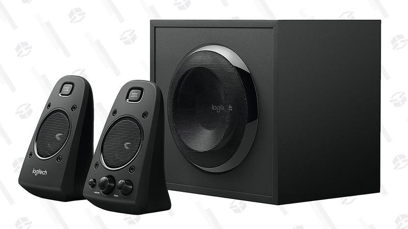 Set de altavoces Logitech Z623 2.1 | $80 | AmazonGráfico: Shep McAllister