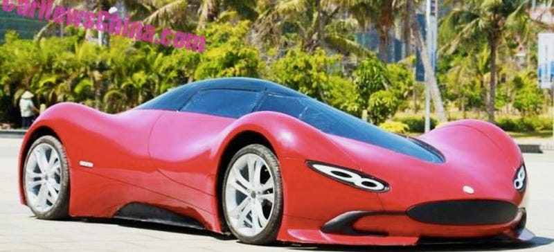 Illustration for article titled This Homemade Electric Supercar Is Impressive Even If It Only Goes 20 MPH