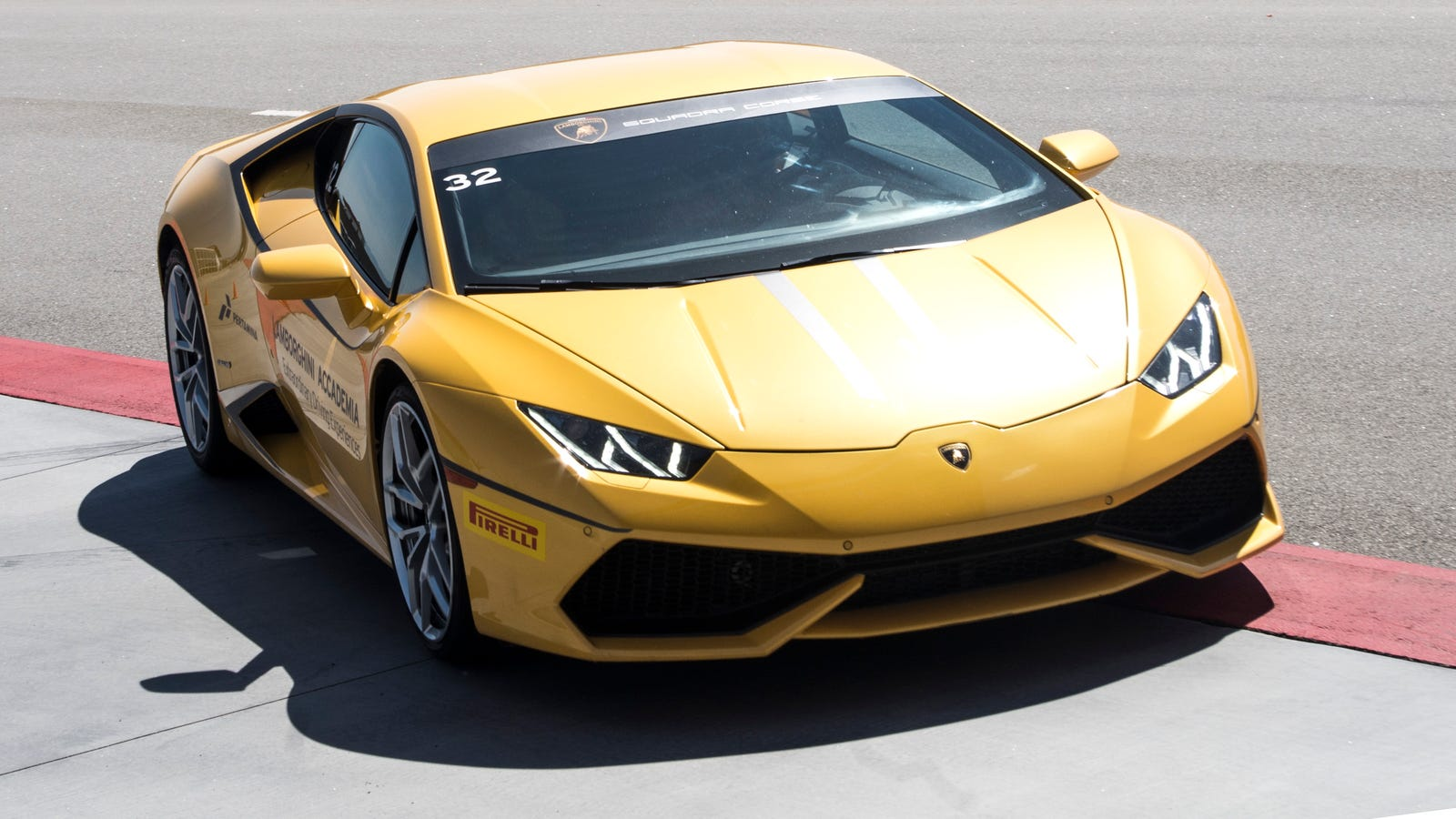 Pure Speed Isn't Even The Best Thing About The Lamborghini