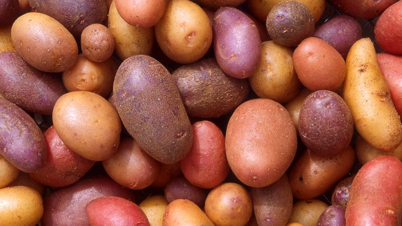 Potatoes Have a Form of 'Depression,' but Scientists Have an Idea to Cure Them