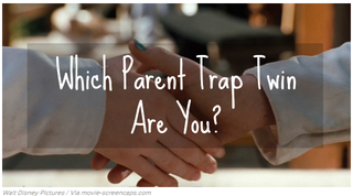 """Illustration for article titled Which """"Parent Trap"""" Twin are You?"""
