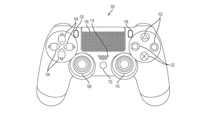 Illustration for article titled Sony Patent Hints at Possible Touchscreen Playstation Controller