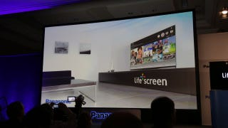 Illustration for article titled Panasonic Life+Screen Smart TV: Can A Smart TV Actually Be Useful?