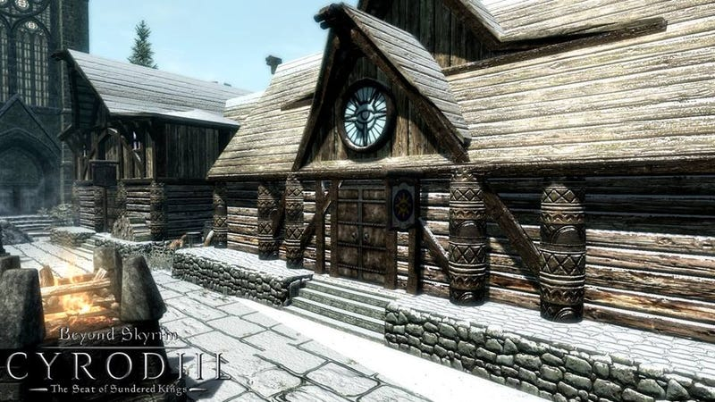 Illustration for article titled Modders Are Adding Oblivion to Skyrim, One Town at a Time