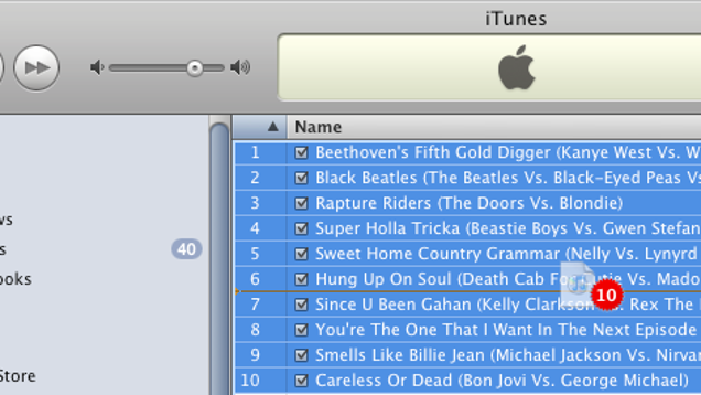 how to add songs in a folder in itunes