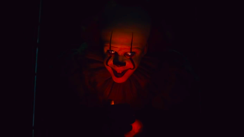 Pennywise prepares to attack.