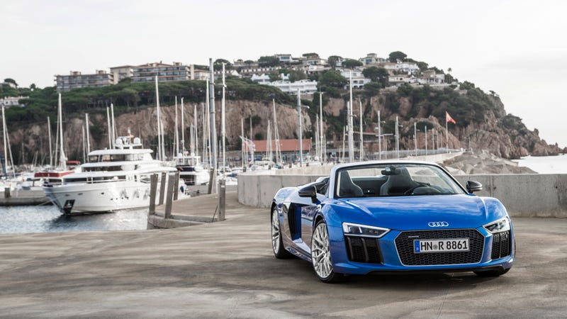 The 2018 Audi R8 Spyder Is A 175000 Absolution Of All Guilt You