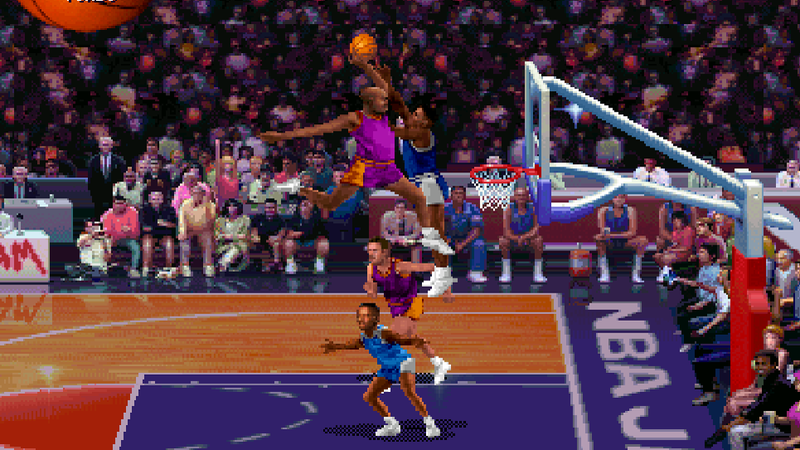 The Night They Turned On The First NBA Jam Machine