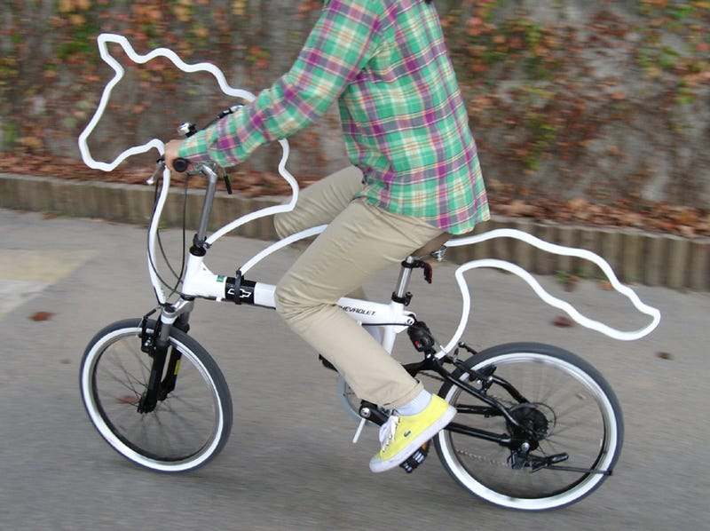 Illustration for article titled Why Ride a Bike When You Can Ride a Horse Bike