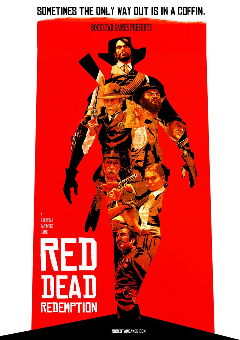 Illustration for article titled If Red Dead Redemption Had Been Released In 1966