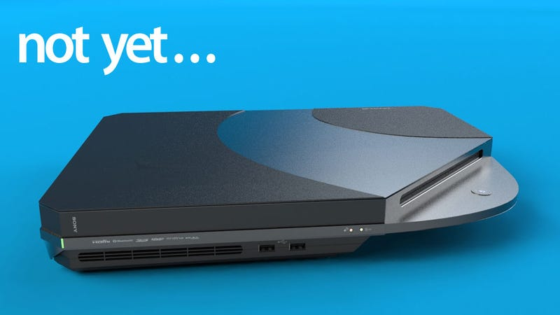 Illustration for article titled No, There Won't be a PlayStation 4 at E3