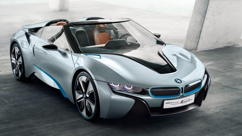 Why Yes I Would Love A Bmw I8 Roadster If Bmw Were To Make One