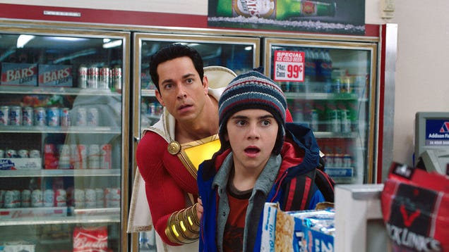 Shazam s Director and Star on Why It s a Kids  Movie with an Important Message About Adults