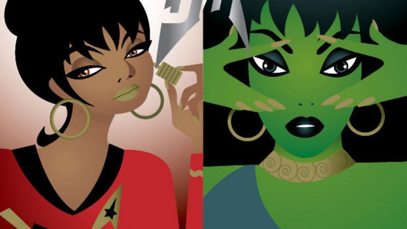 Illustration for article titled MAC to explore the strange new world of Star Trek-themed cosmetics