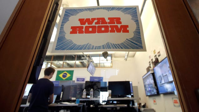 Facebook s Physical War Room Is Already Empty, But It Says  War Room Tactics  Will Continue