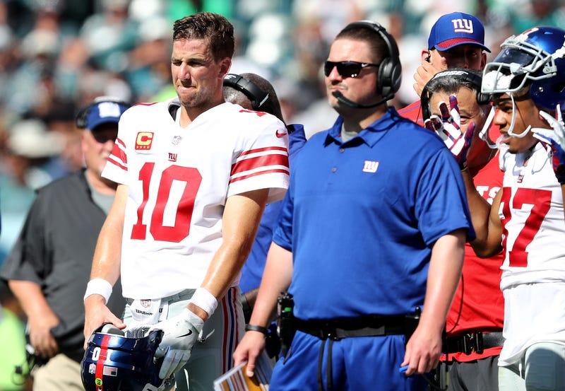 Illustration for article titled The Giants Really Screwed Up Eli Manning's Exit