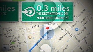 Illustration for article titled Everything You Need to Know About Turn-by-Turn Navigation on Your iPhone