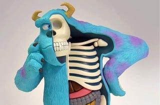 Estas extrañas figuras revelan la anatomía de tus personajes favoritos