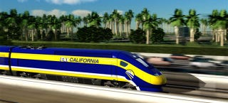 Illustration for article titled California's220MPH High-Speed Railway Is FinallyBeing Built
