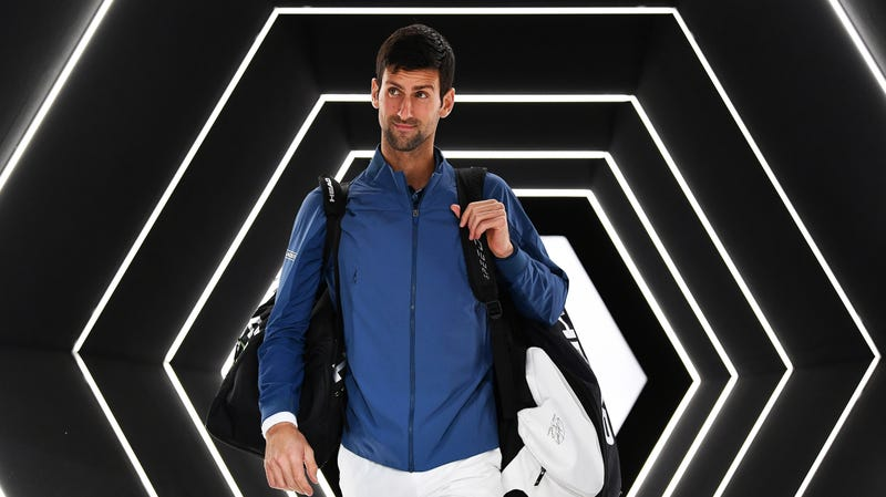 Illustration for article titled Novak Djokovic Is Yammering About Telepathy