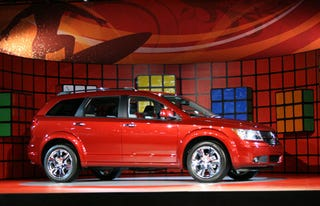 Illustration for article titled LA Auto Show: 2008 Dodge Journey Live Reveal
