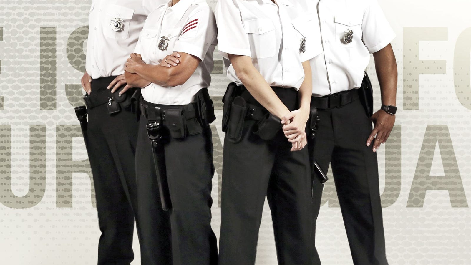 The Isle Of Four Security Guards