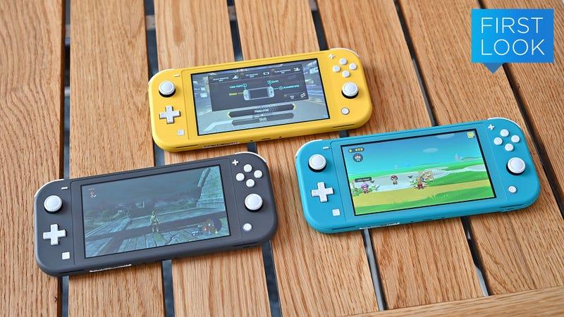 Illustration for article titled La nueva Nintendo Switch Lite es mejor de lo que imaginas