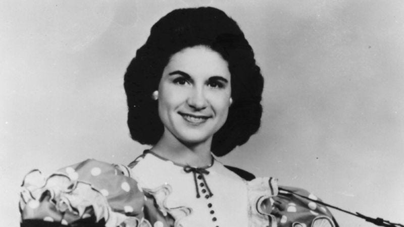 Illustration for article titled Week 26: Kitty Wells, Doyenne Of Domestic Drama