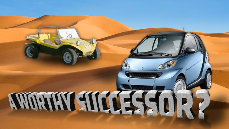 Illustration for article titled The Smart Car Would Be Better As A Dune Buggy