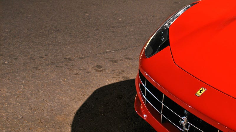Illustration for article titled Your Ridiculously Cool Ferrari FF Wallpaper Is Here