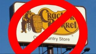 Illustration for article titled This Petition to Change the Name of Cracker Barrel is Very Confusing
