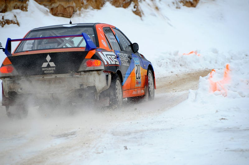 Illustration for article titled 2009 Sno*Drift Rally: Bring The Pain