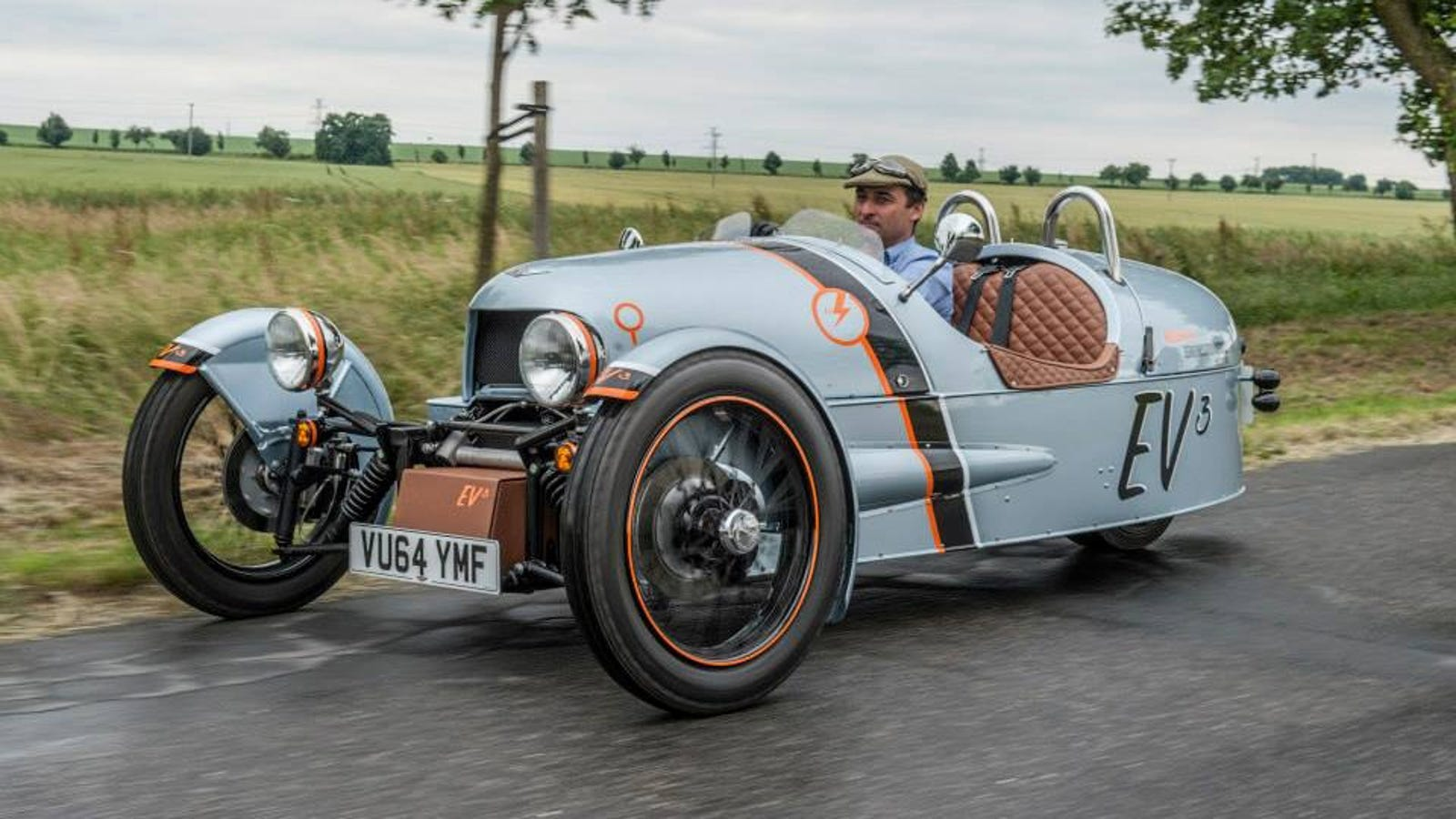 morgan 39 s electric 3 wheeler will have up to 150 miles of range. Black Bedroom Furniture Sets. Home Design Ideas