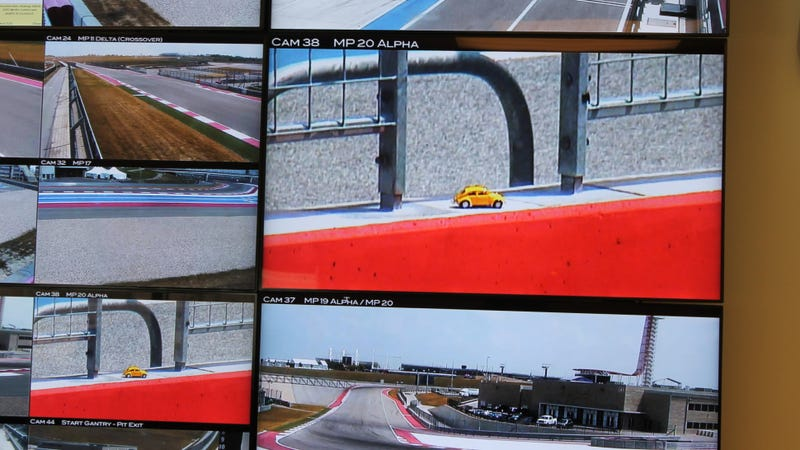 Illustration for article titled This Is How They See You Spin Out At Circuit Of The Americas